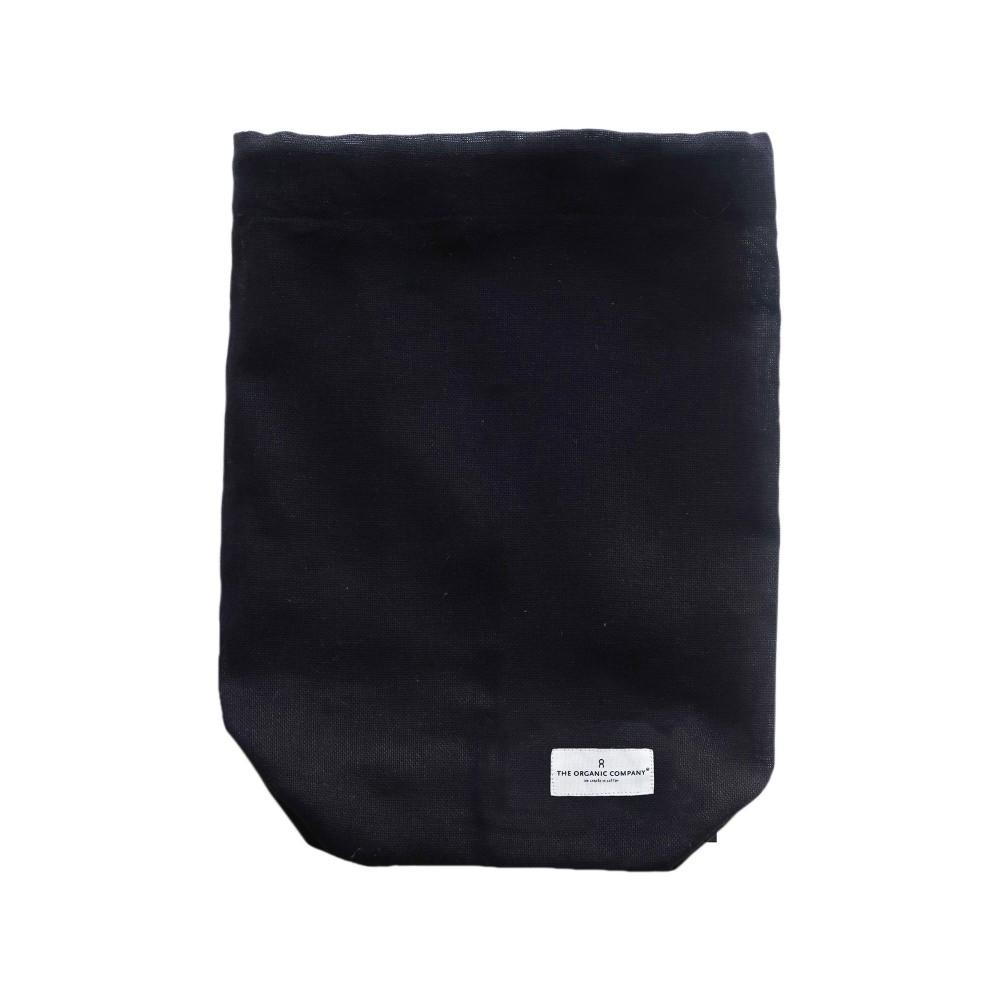 The Organic Company - brødpose - flere størrelser - black