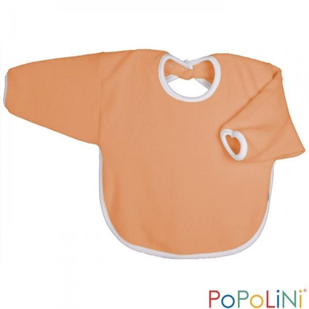 Popolini - hagesmæk - forklæde med ærmer - orange