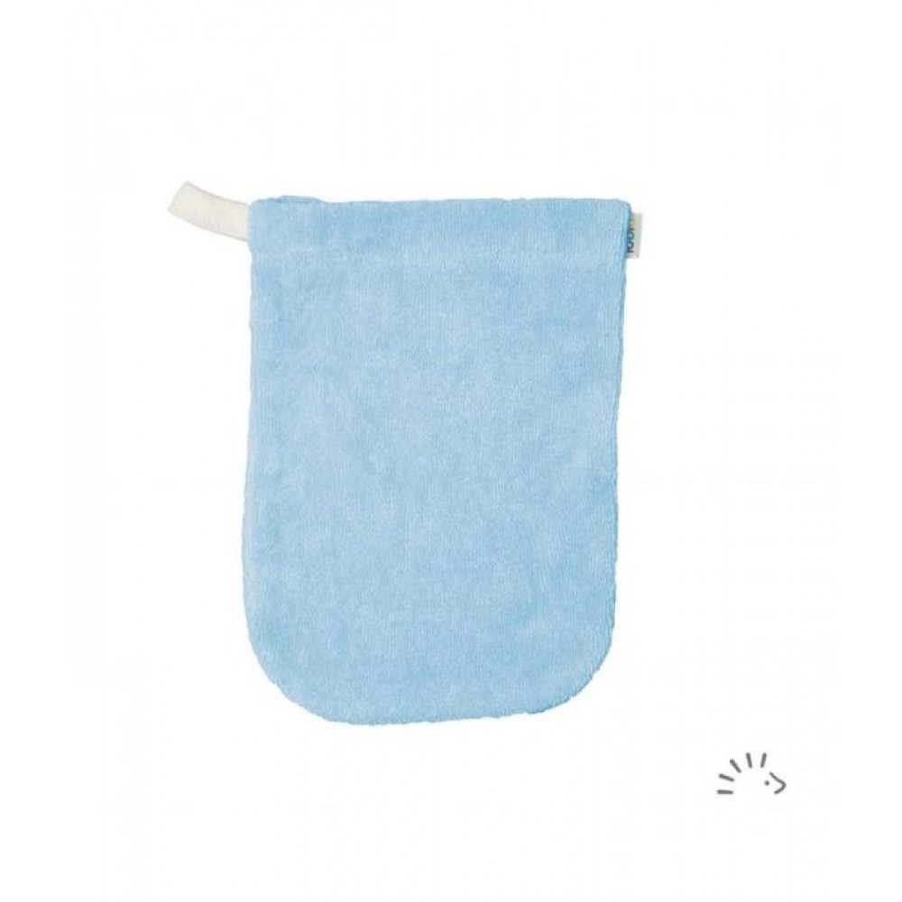 Popolini - vaskehandske - 2 størrelser - aqua
