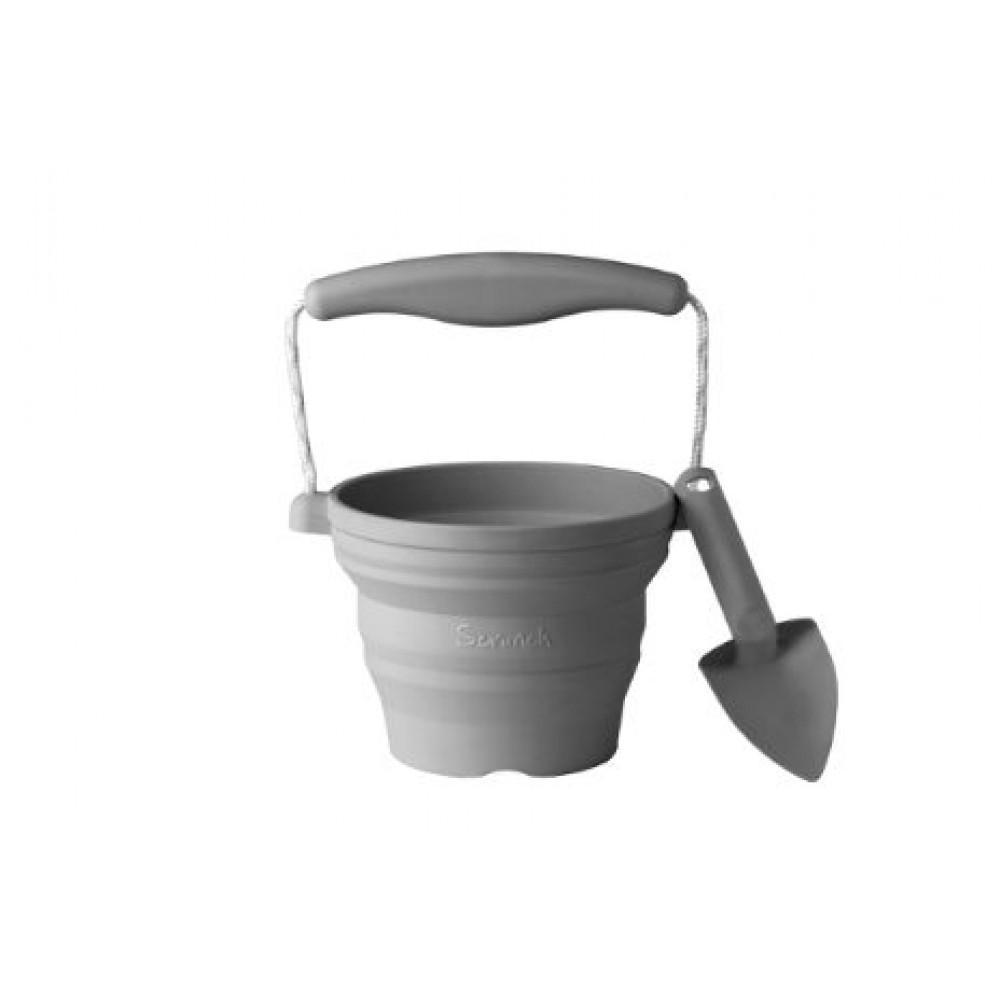 Funkit World - Scrunch - gardening set - antracitgrå