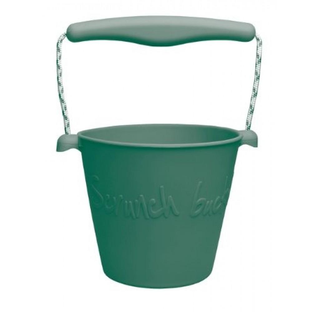 Funkit World - Scrunch-bucket - mange farver-Mørkegrøn