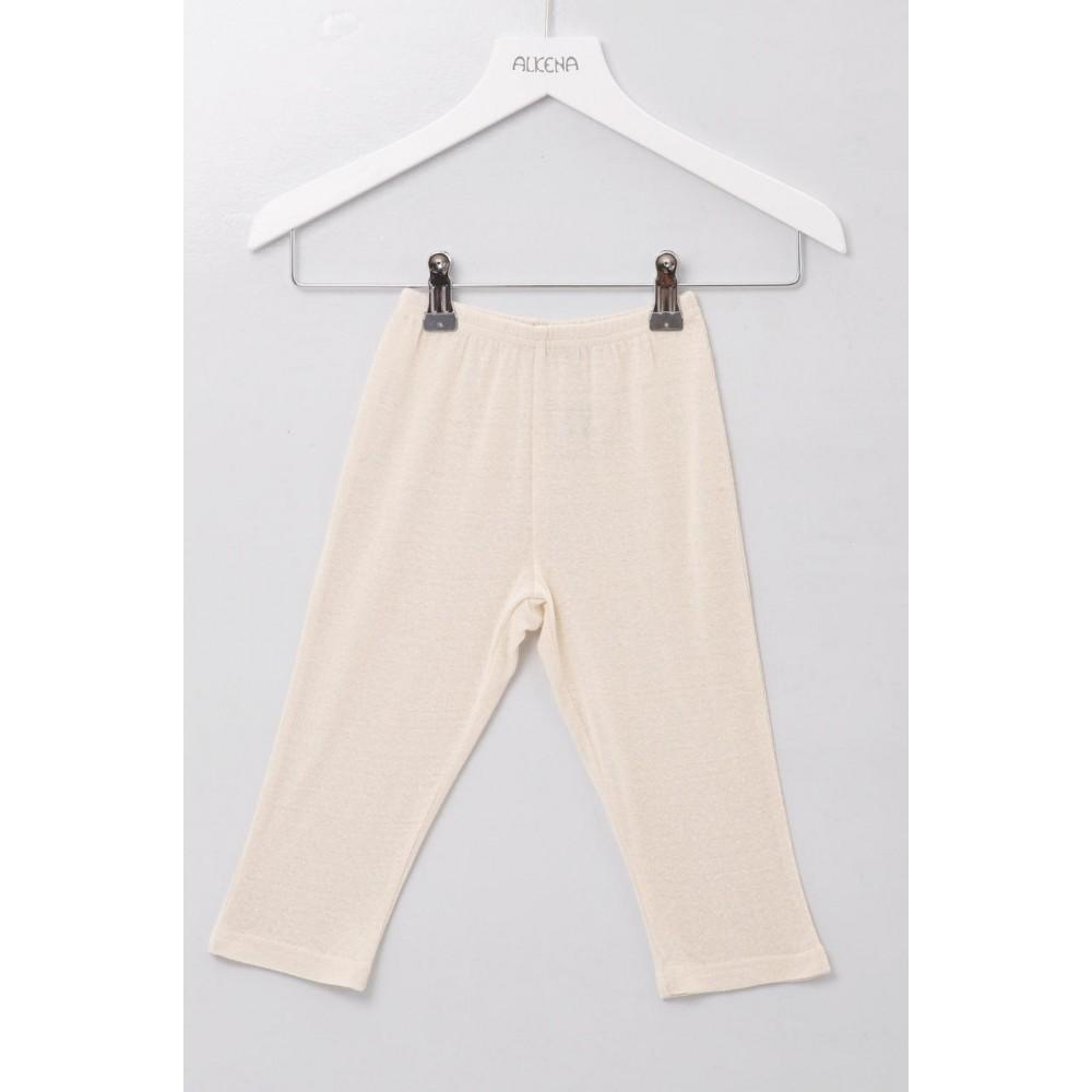 Alkena - bukser - bourette silke - natur