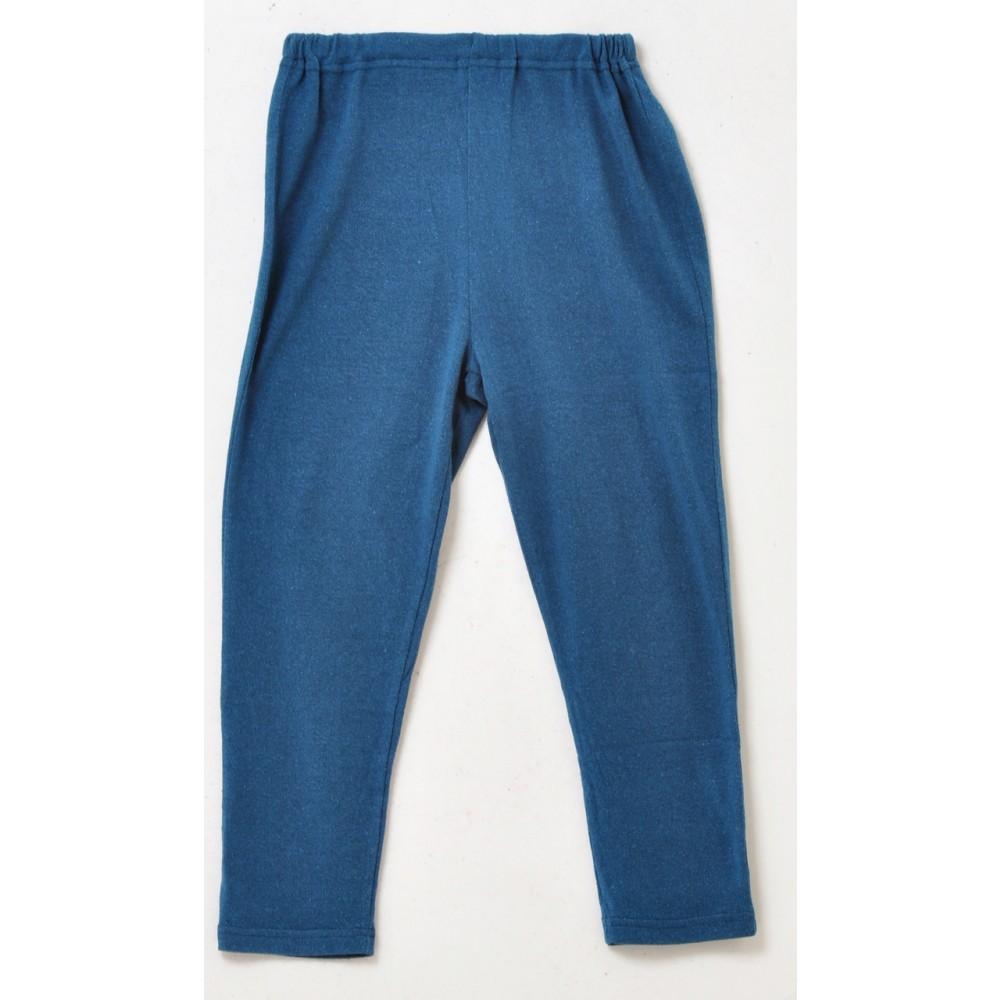 Alkena - bukser - større børn - bourette silke - petroleum