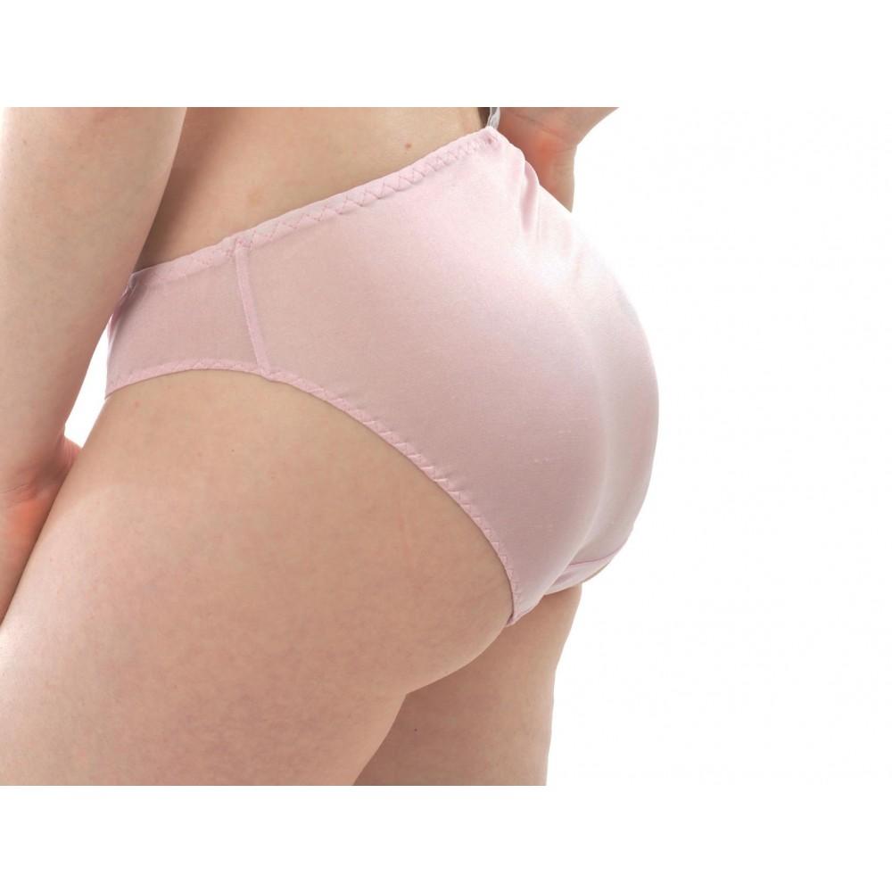 Alkena trusser økologisk silke sart rosa-01