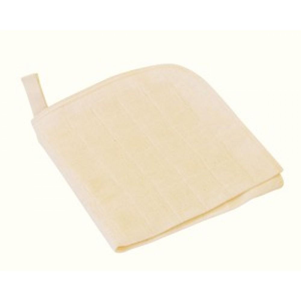 DISANA - vaskeklude - 3 stk. økologisk bomuld
