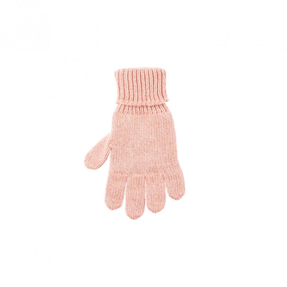 Pure Pure - fingerhandsker - uld/silke/bomuld - duset rosa