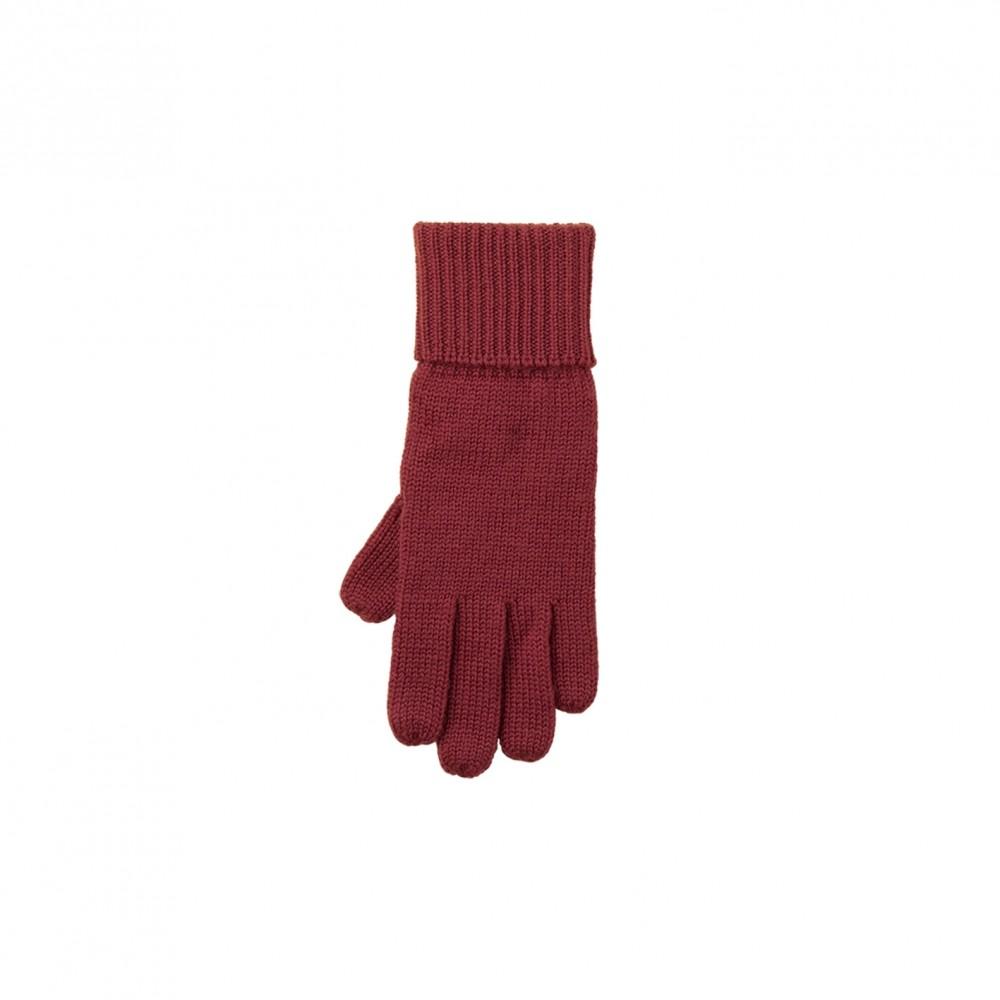 Pure Pure - fingerhandsker - merinould - bordeaux