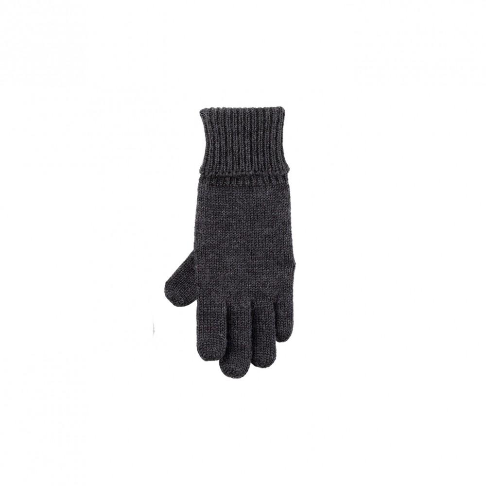Pure Pure - fingerhandsker - merinould - antracit