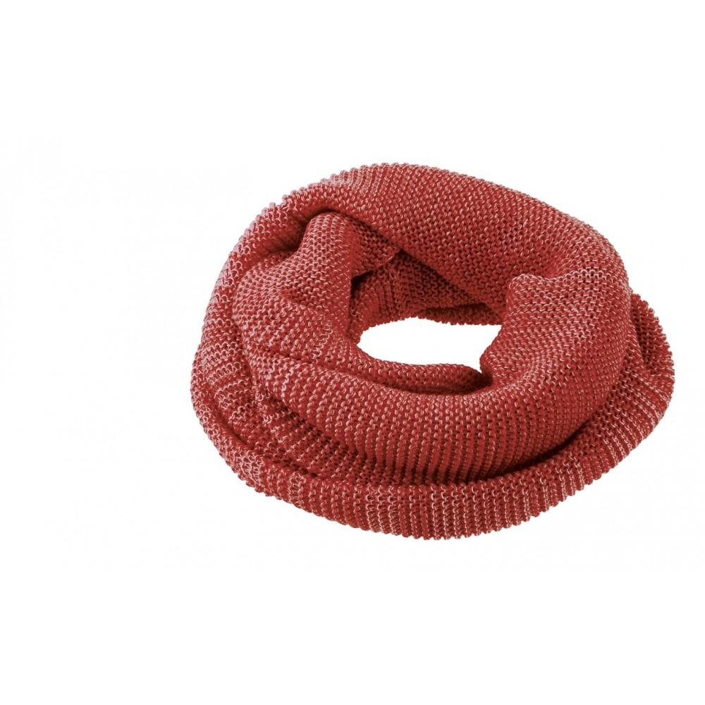 DISANA | tube halstørklæde | bordeaux/rosé melange