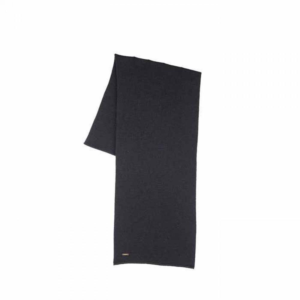 Pure Pure - halstørklæde - merino uld - sort