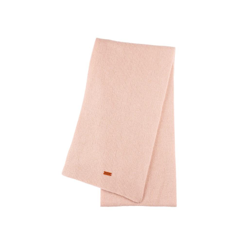 Pure Pure - stort halstørklæde - merinould & kashmir - lys duset rosa
