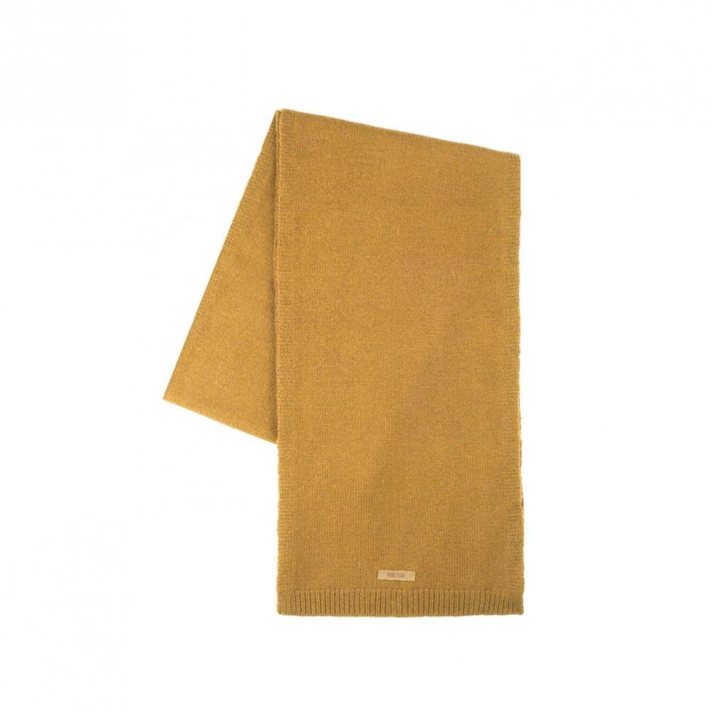 Pure Pure - halstørklæde - merinould & kashmir - amber