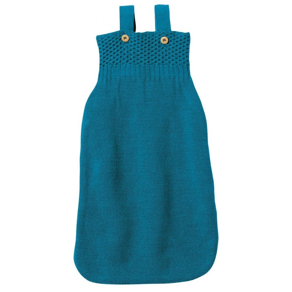 disana - sovepose - økologisk merinould - blå