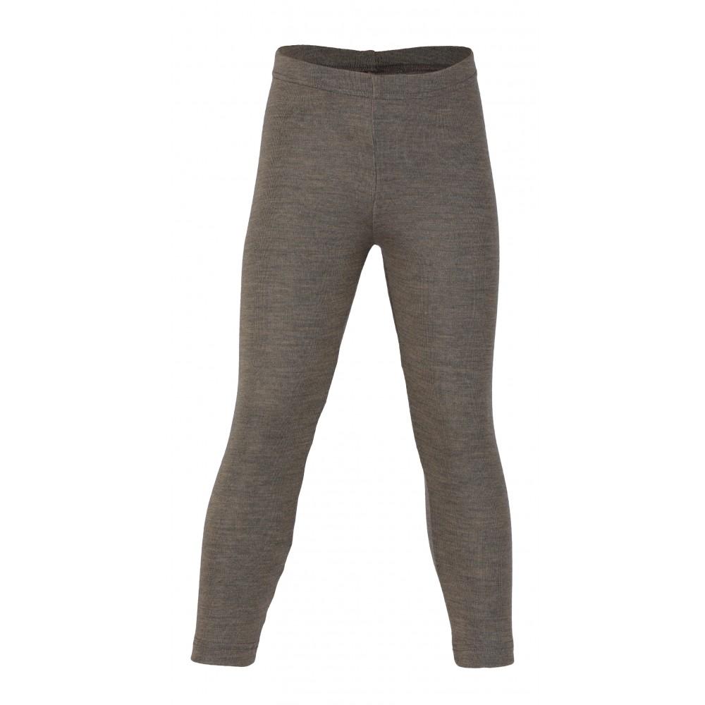 Engel - leggings - uld & silke - valnød