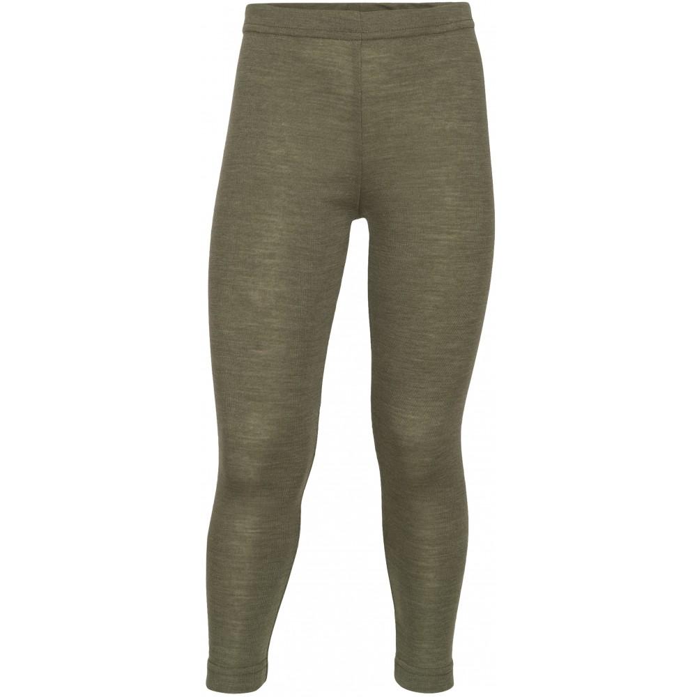 Engel - leggings - uld & silke - olive