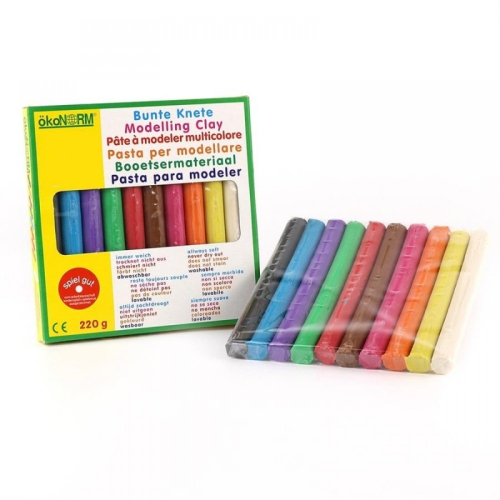 ÖkoNORM - modellervoks - 10 farver