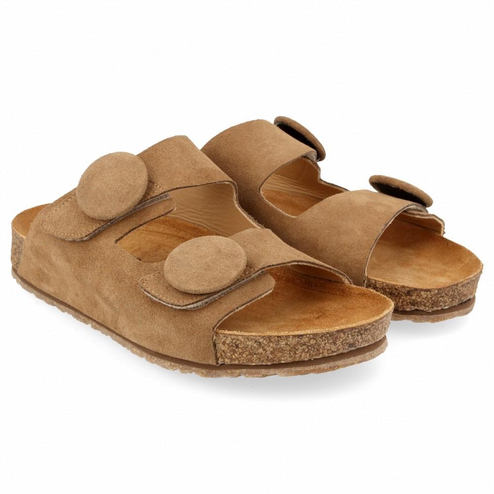 Haflinger - sandaler - Bio Alina - sand