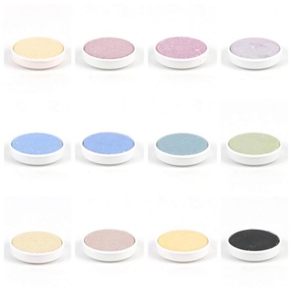 Ökonorm - vandfarver - genopfyldningsfarver - 12 farver