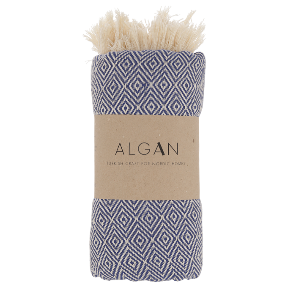 Algan - Elmas badelagen - 100x180 cm. - navy