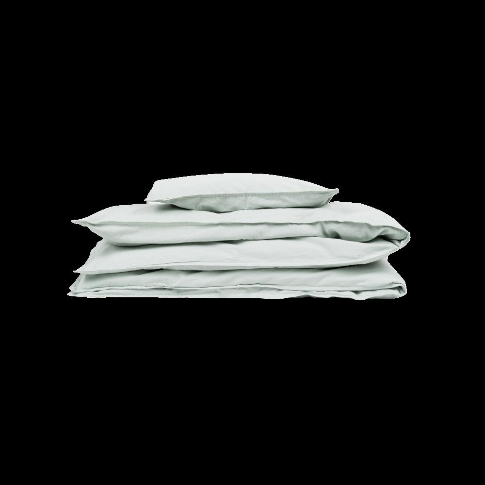 Studio Feder - sengesæt - voksenstørrelser - Milky Green