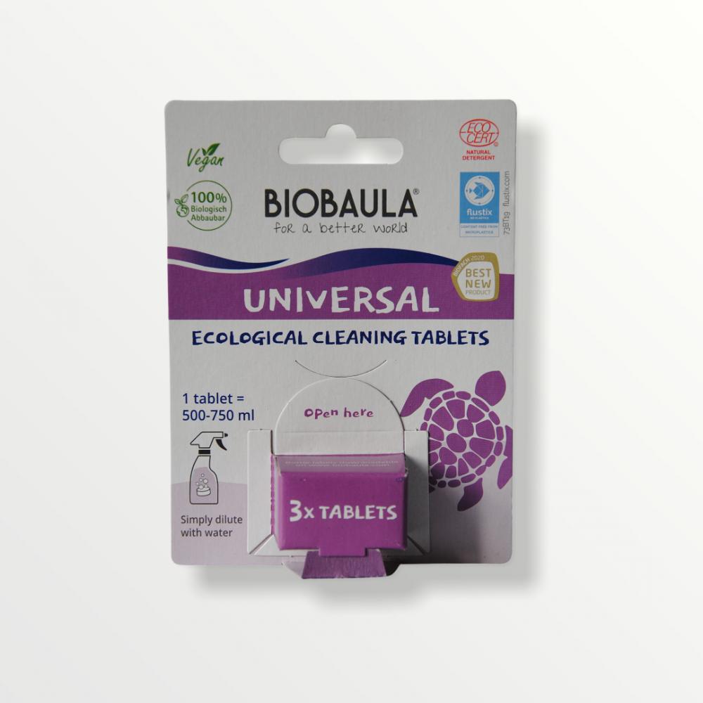 BioBaula - økologisk universalrengøring - 3 tabletter