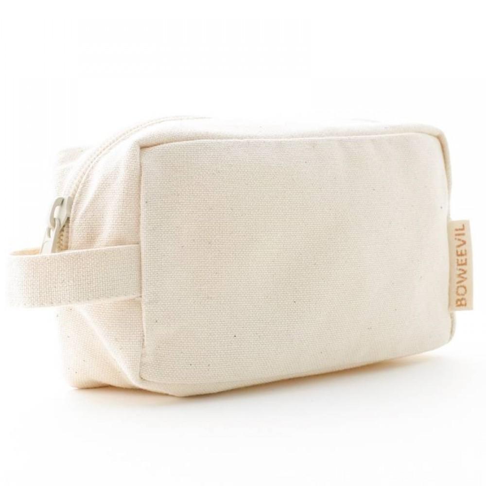 Bo Weevil - lille toilet taske med hank - natur