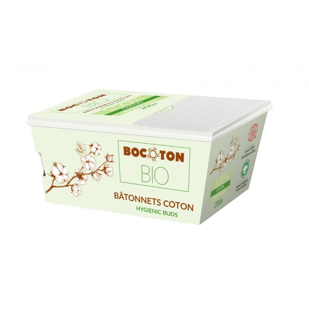 Bocoton Bio - økologiske vatpinde - 200 stk.