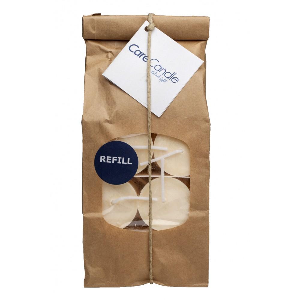 Care Candle - rapslys - fyrfadslys - 18 stk. - refill