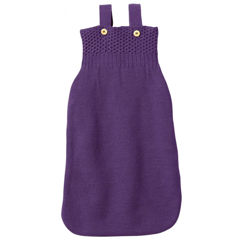 disana - sovepose - økologisk merinould - mørk lilla