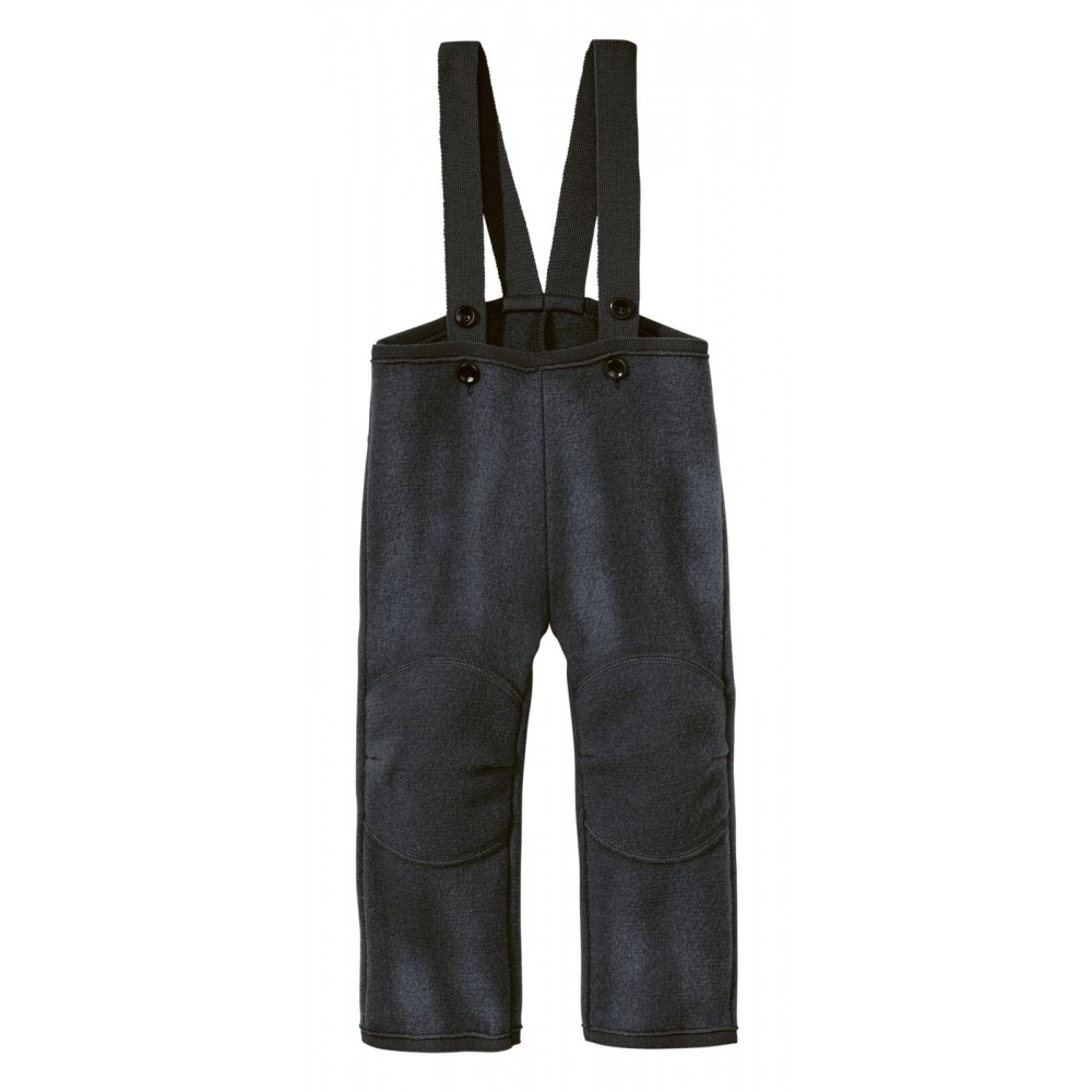 DISANA |uldbukser | kogt uld | antracitgrå