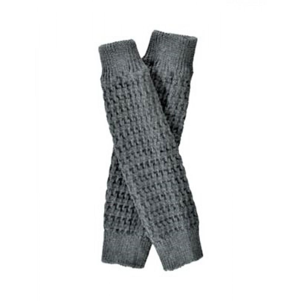 Grödo - benvarmere - børn - økologisk uld - 35 cm. grå