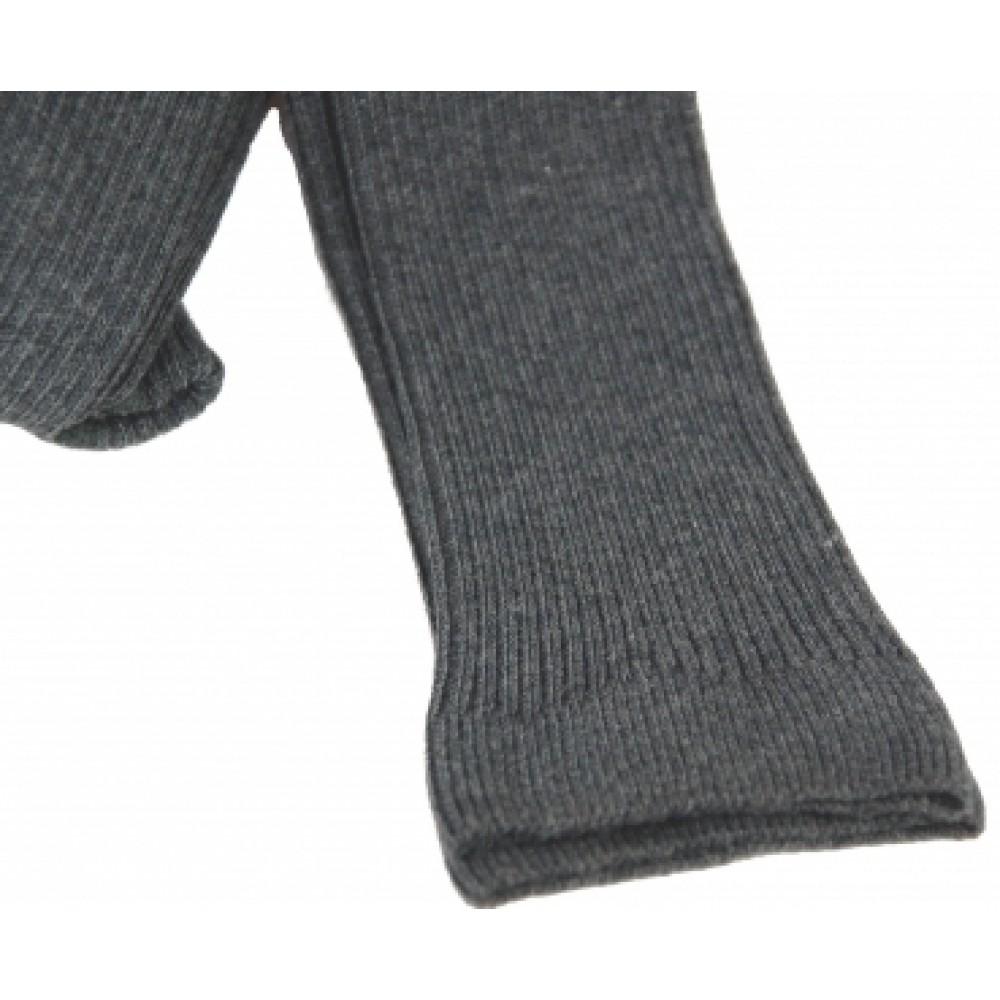 Grödo - strikkede leggings - bomuld - grå