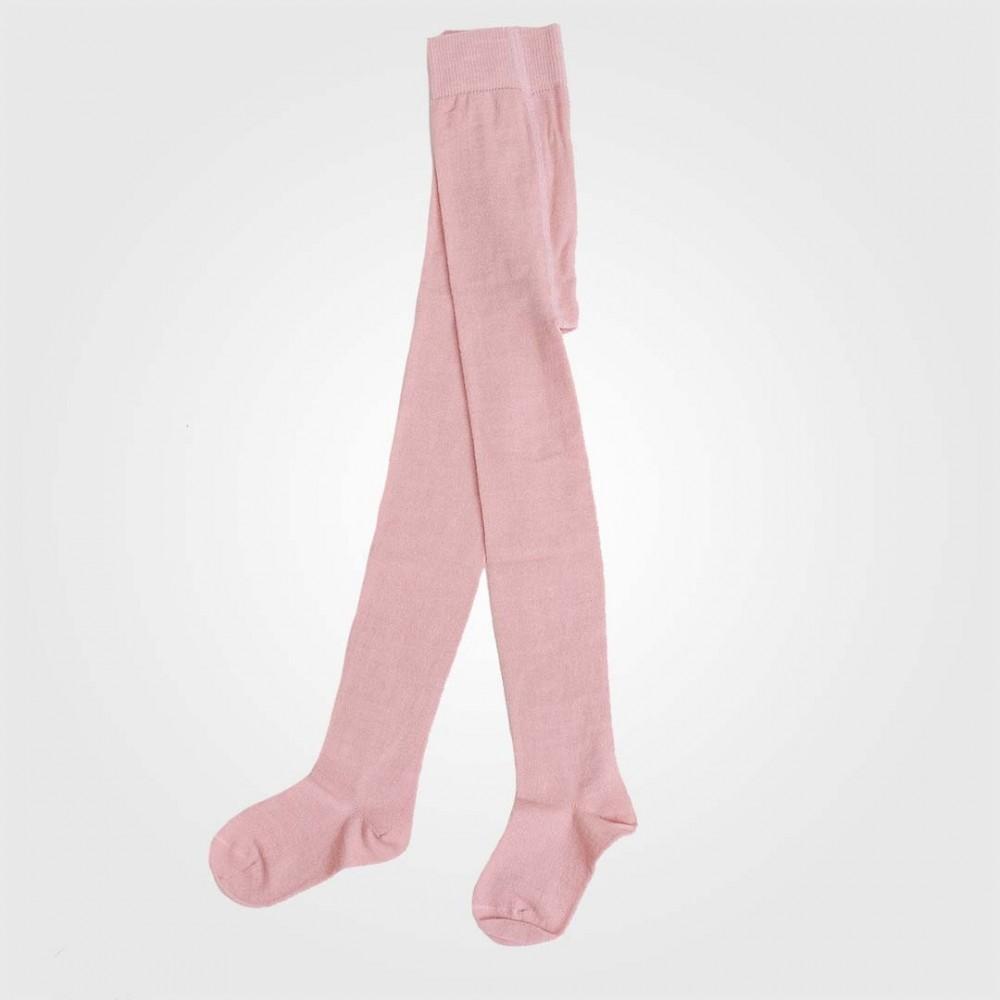 Grödo - strømpebukser - uld & bomuld - rosa