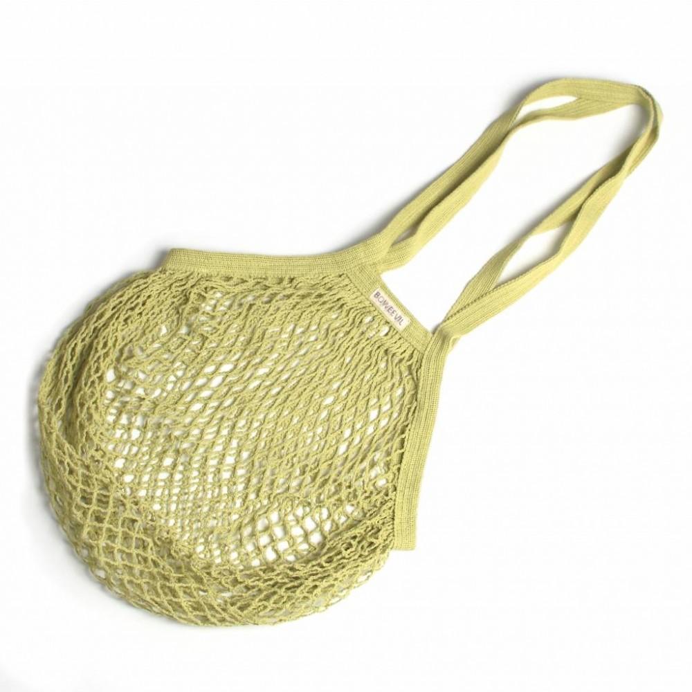 Bo Weevil - stringbag - granny´s - ekstra lang hank - limegrøn