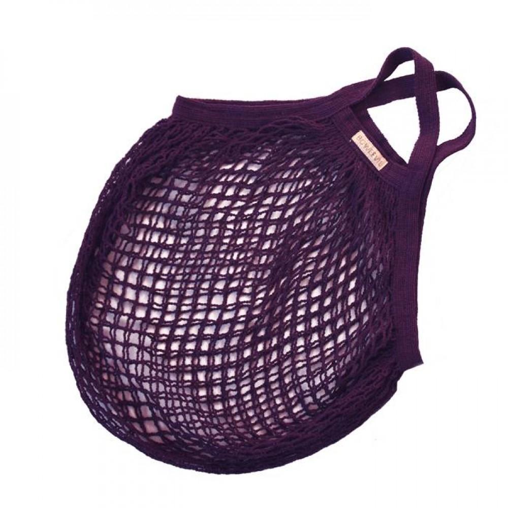 Bo Weevil - stringbag - granny´s - hæklet net - lilla