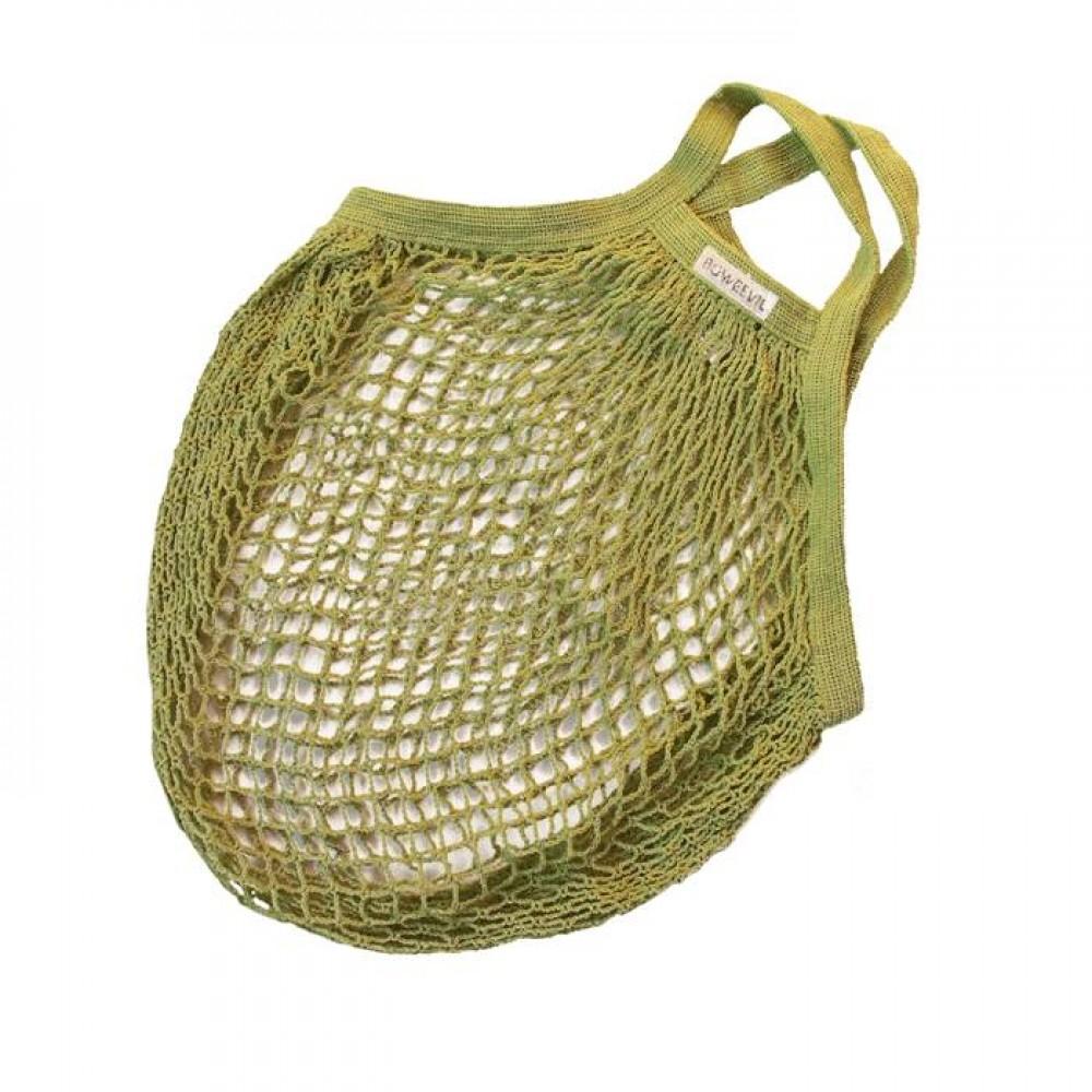 Bo Weevil - stringbag - granny´s - hæklet net - limegrøn