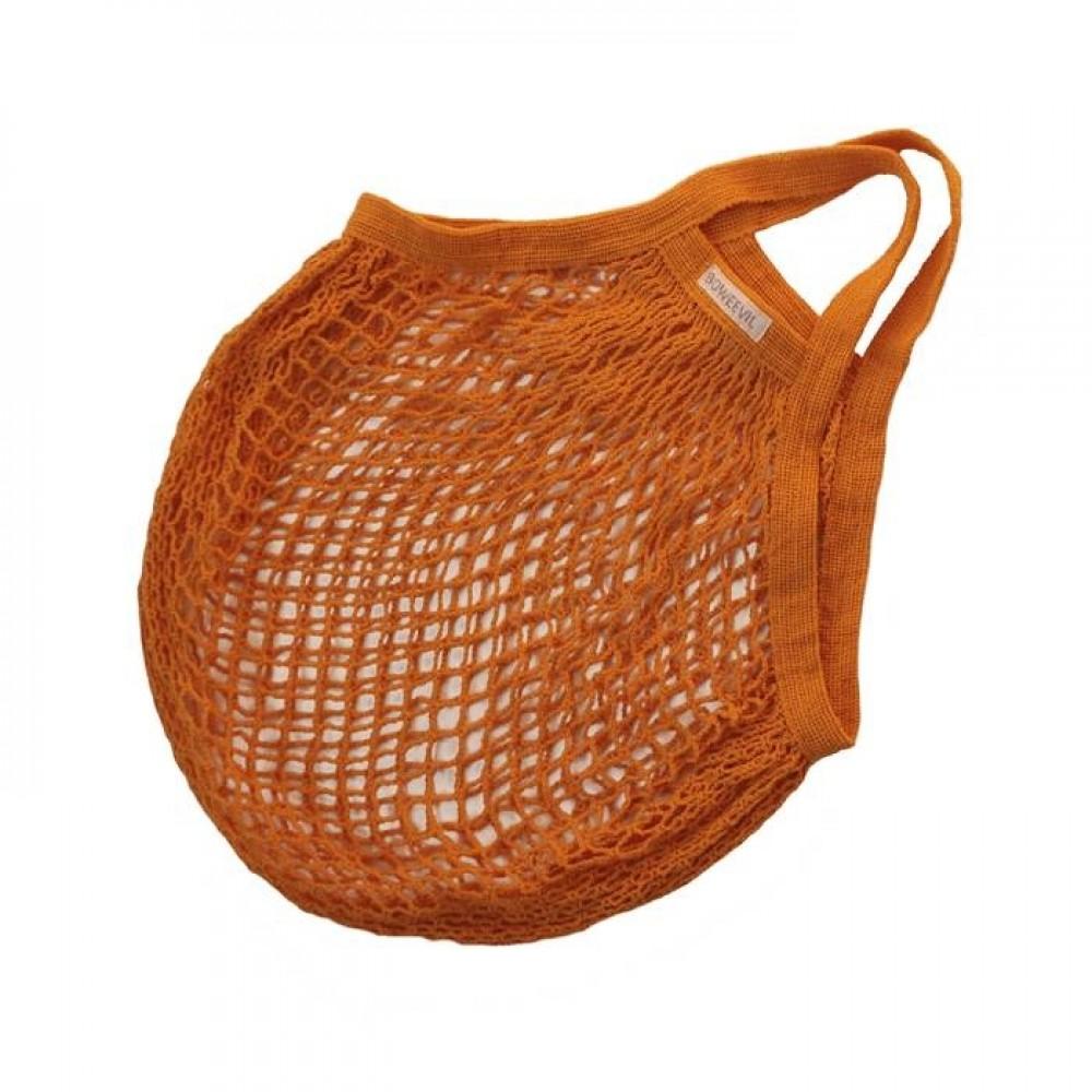 Bo Weevil - stringbag - granny´s - hæklet net - orange
