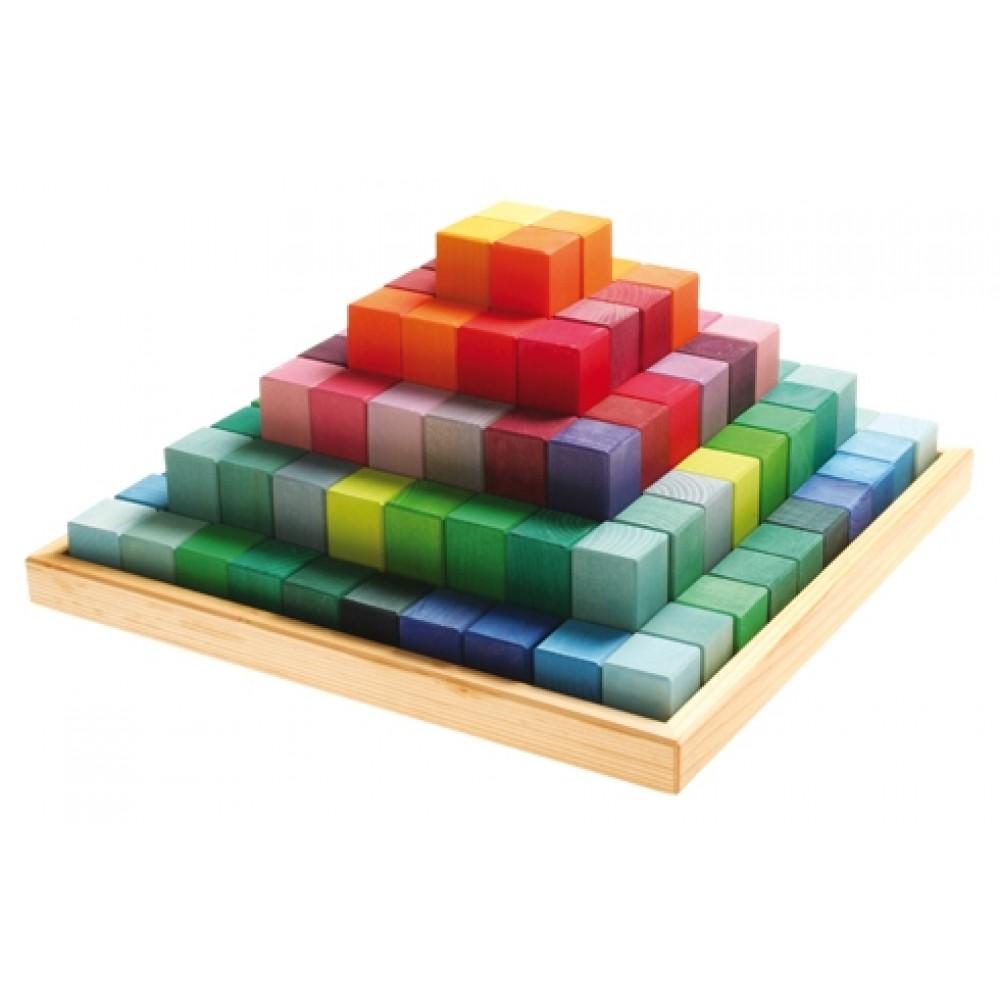 Grimms - large stepped pyramid - kæmpe sæt