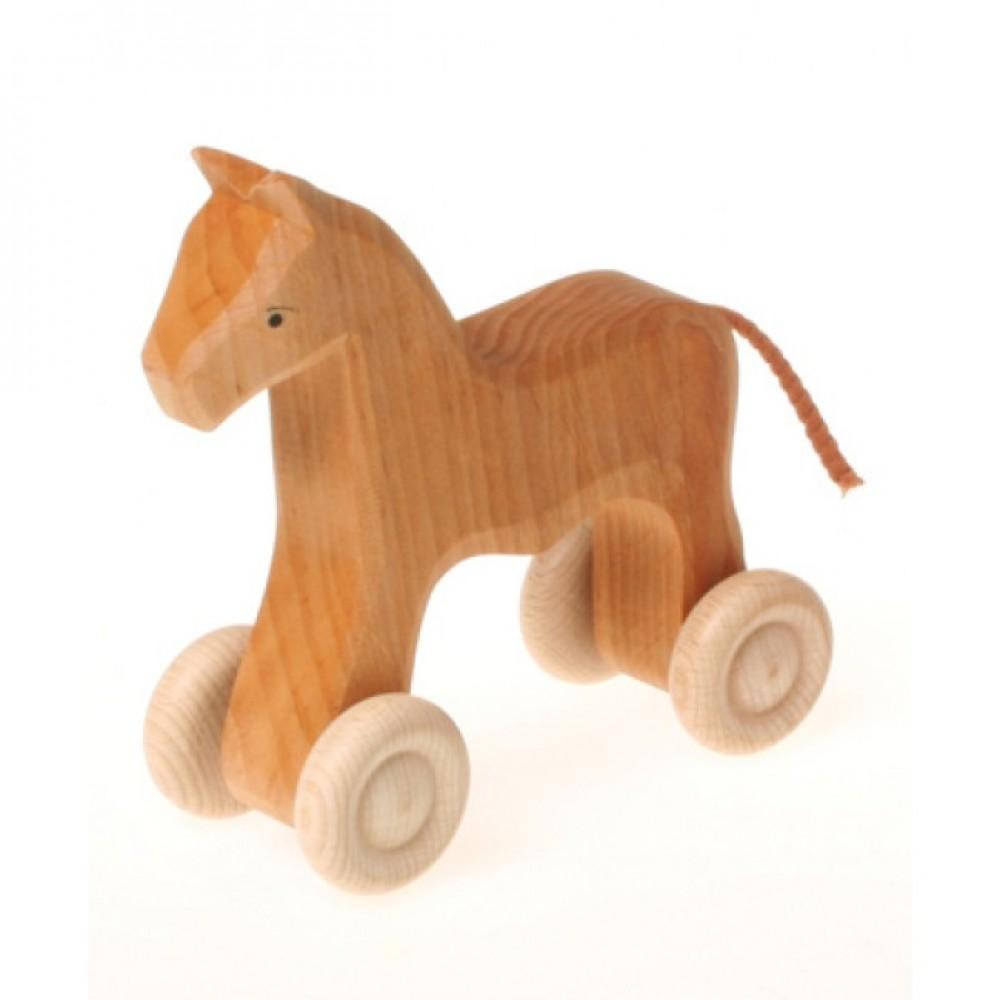 Grimms - lille hest på hjul - natur