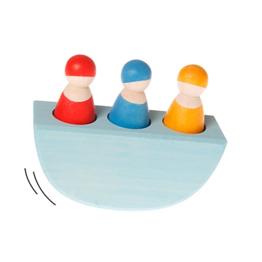 Grimms - lille vippebåd med 3 passagerer