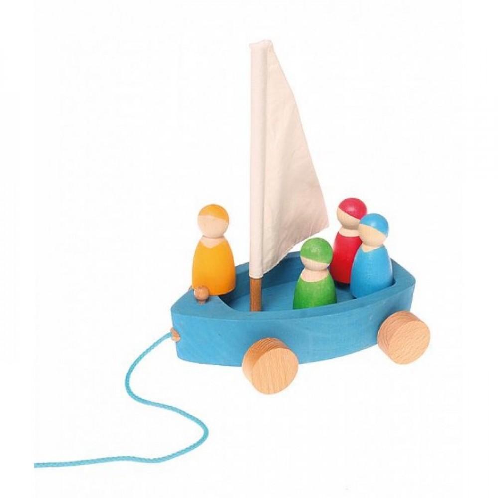 Grimms - sejlbåd med 4 passagerer