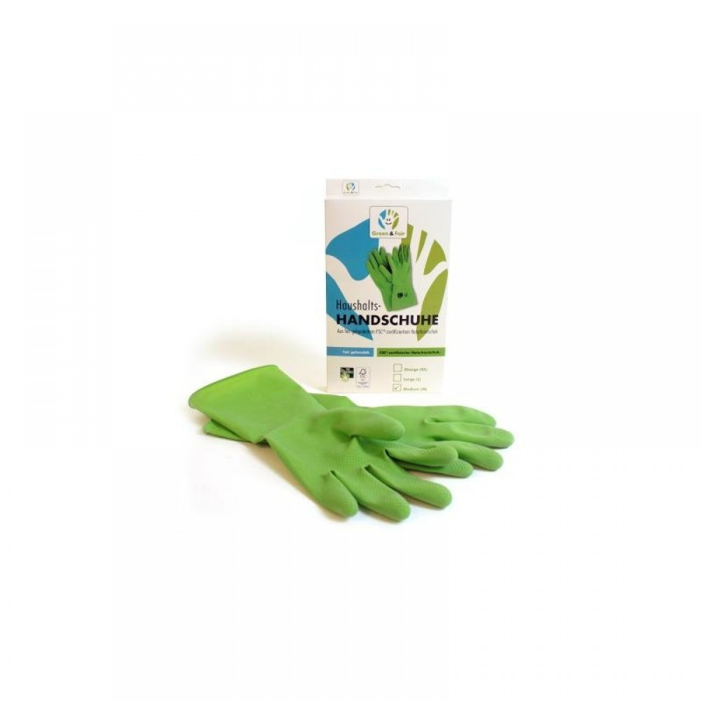 Fair Trade Center - gummihandsker - 100% FSC®-certificeret naturlatex