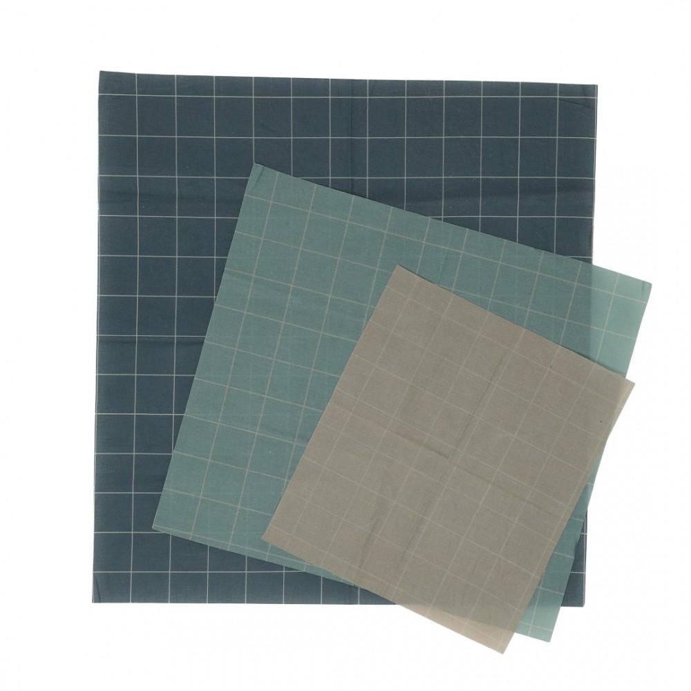 Haps Nordic - bivoks wraps - 3 pak - cold colours