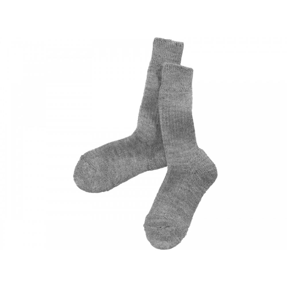 Hirsch - uldsokker - ekstra forstærket - grå
