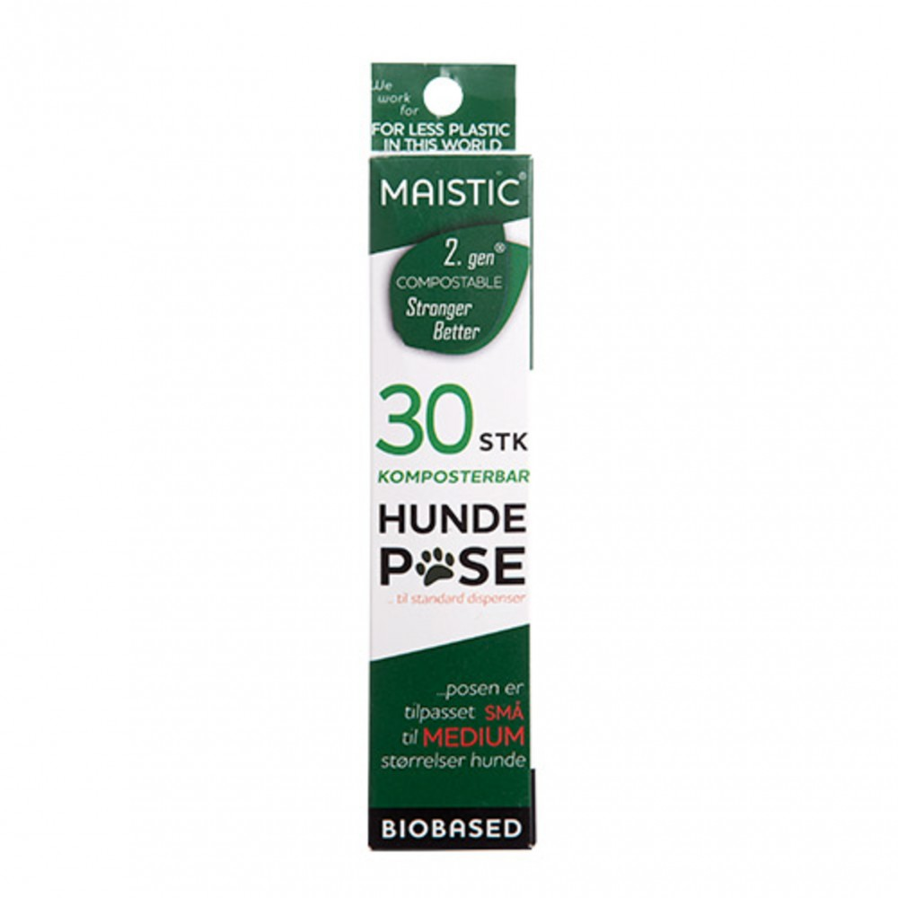 Maistic Bio Group - komposterbare hundeposer - small - 30 stk.