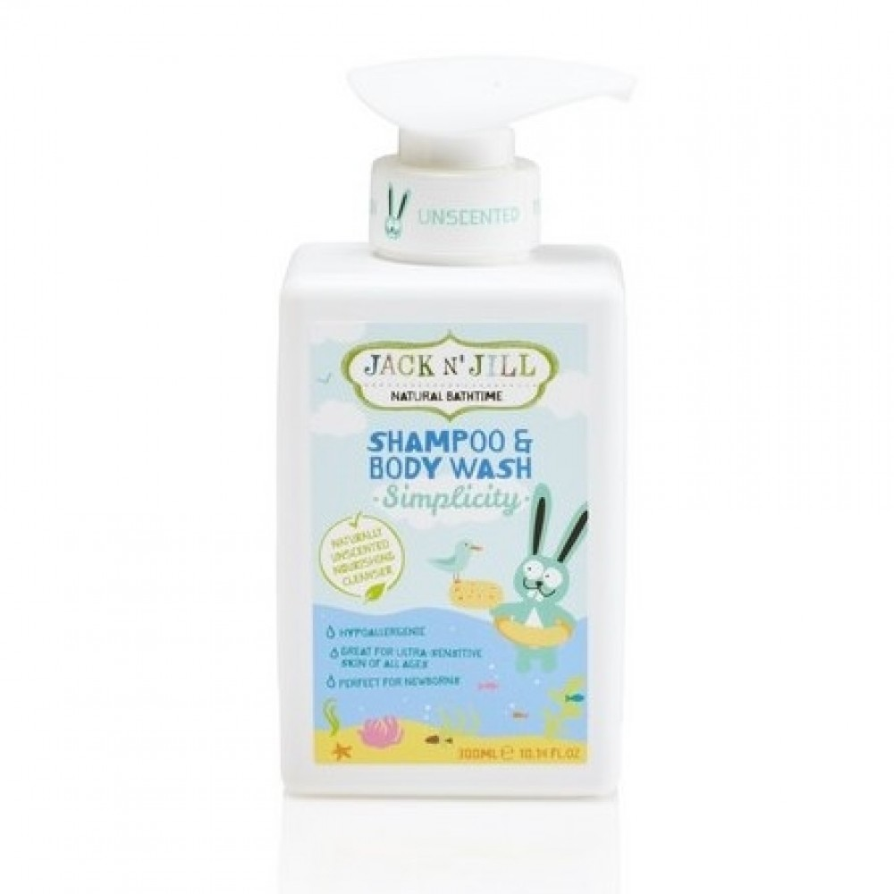 Jack N' Jill - shampoo og body wash - neutral
