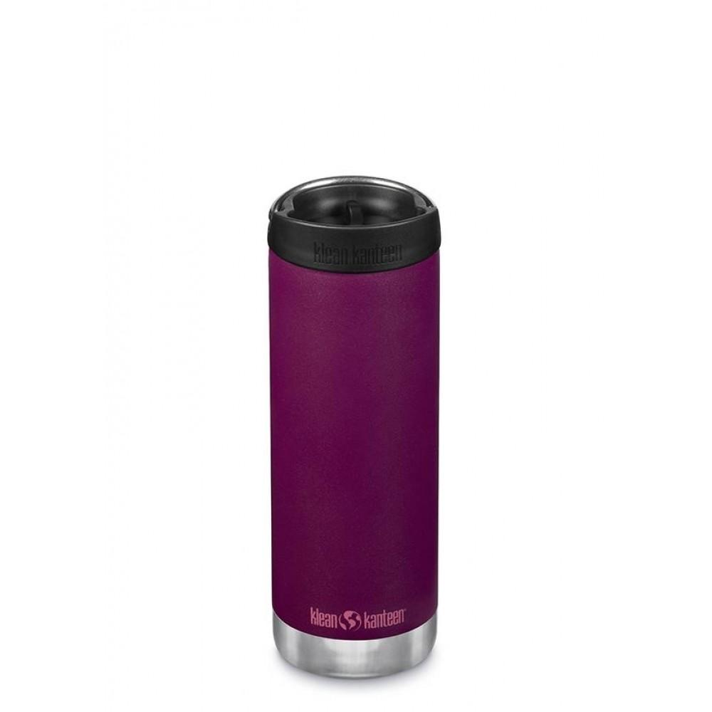 Klean Kanteen - TKWIDE- termoflaske 473 ml. - café cap - purple potion