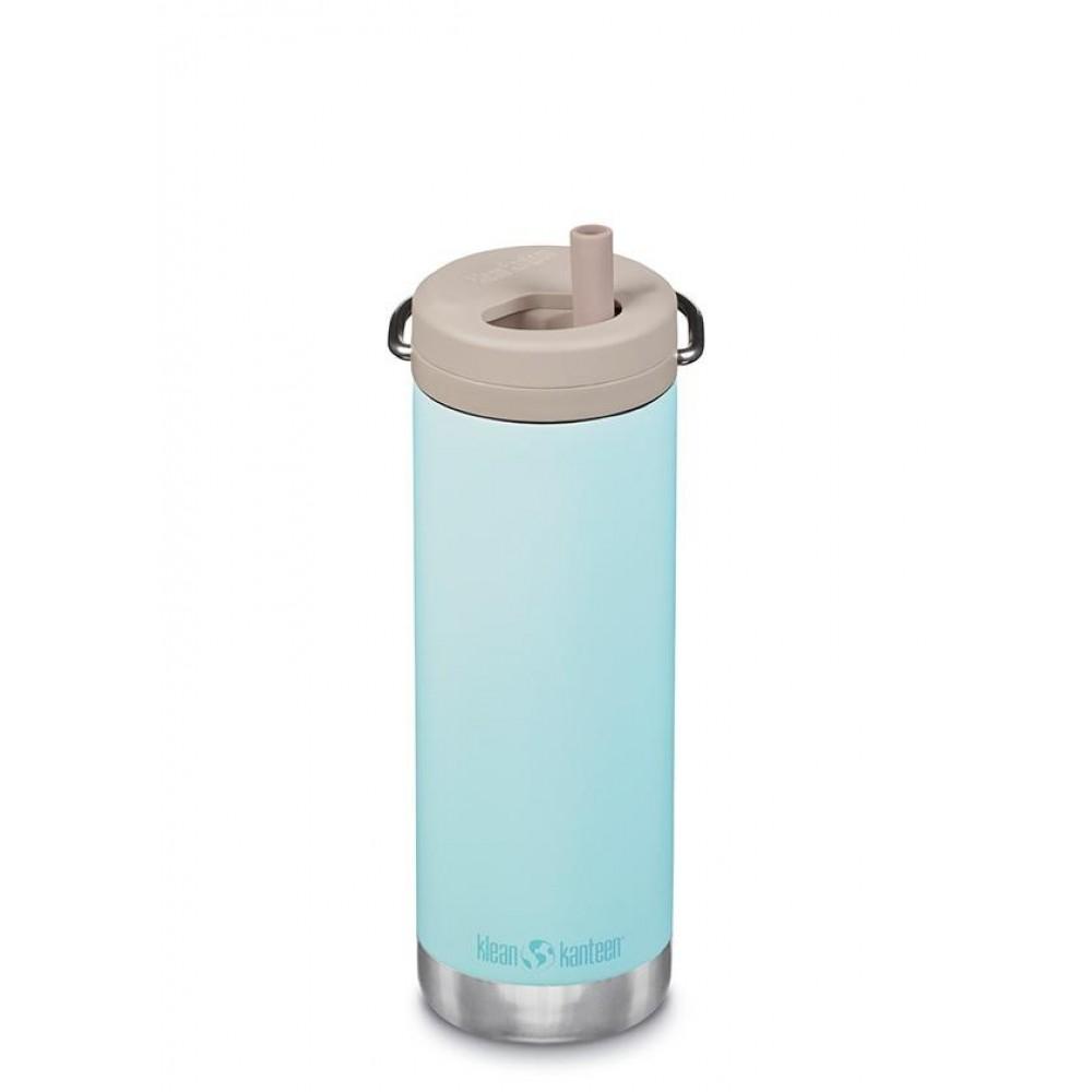 Klean Kanteen - TKWIDE- termoflaske 473 ml. - twist cap - blue tint