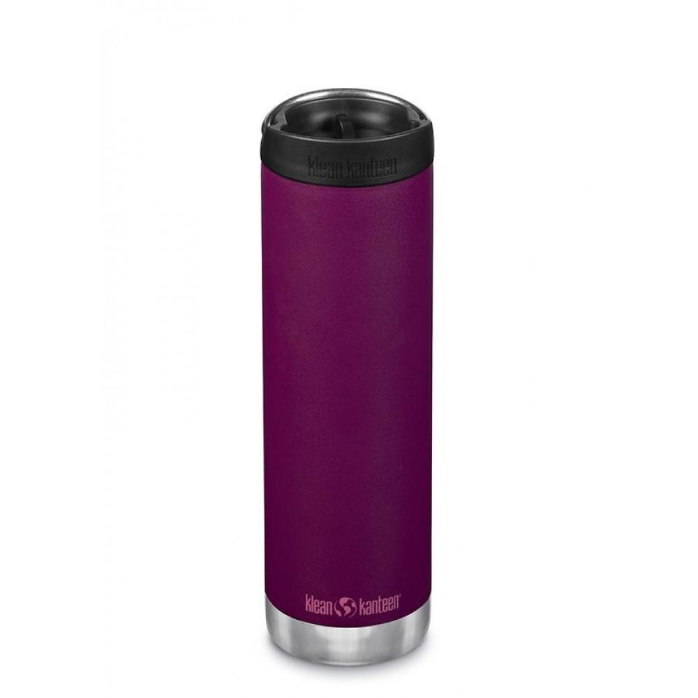 Klean Kanteen - TKWIDE- termoflaske 592 ml. - café cap - purple potion