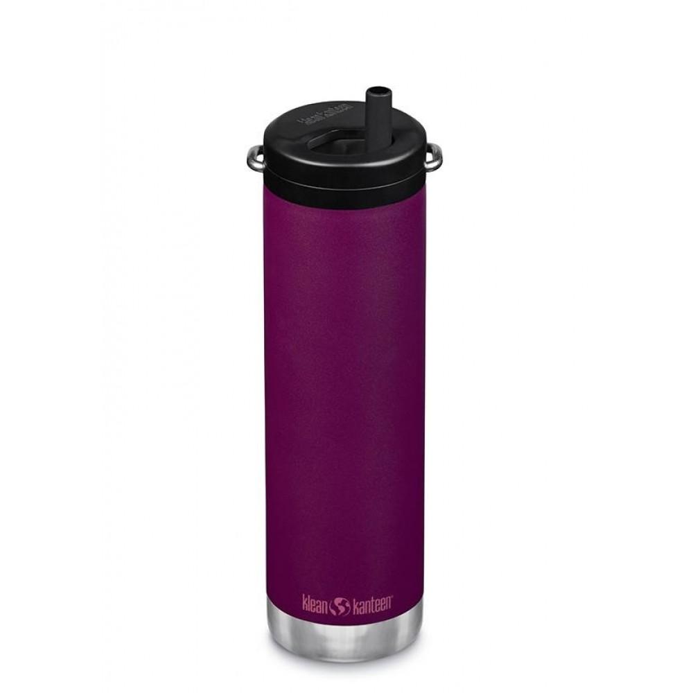 Klean Kanteen - TKWIDE- termoflaske 592 ml. - twist cap - purple potion